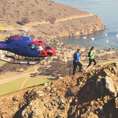Catalina Island - IEX Helicopters