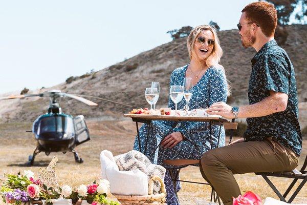 iex helicopters heli picnic